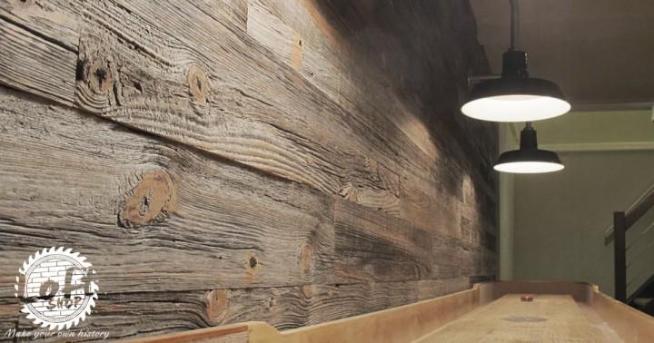 deski ścienne ze starego drewna loftshop